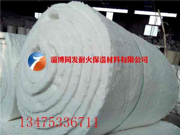 硅酸铝纤维棉毯