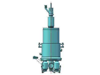 水煤气富氧、纯氧气化炉