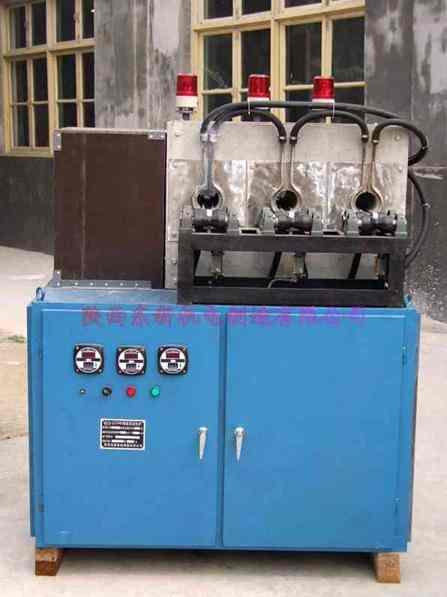 多孔位中频锻造加热炉